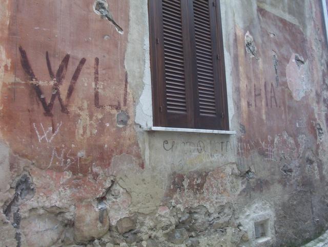 BOIANO monarchia savoia monarchici storia molise beni culturali scritta murale